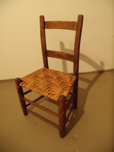 First Authentic Bark Chair