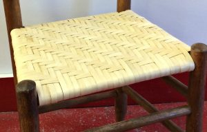 Splint bottom chair