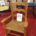 Contemporary chairmakers exhibit: Woody