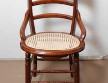 Lace Cane Intermediate Round Seat