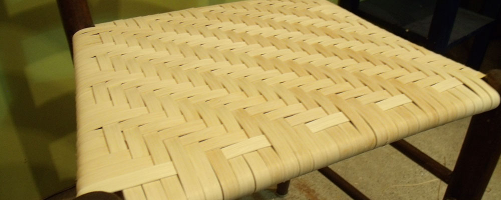 & Silver River Center for Chair Caning » Splint Weaving Classes