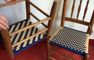 shaker-tape-checkerboard-and-herringbone-chairs