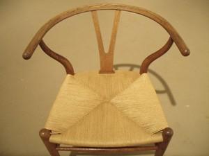 Wishbone-chair-Danish-cord-rush-weave-after
