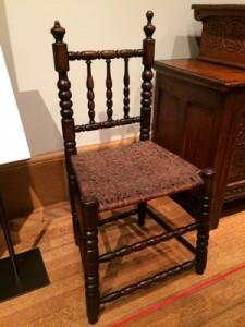 splint chair, nice turnings