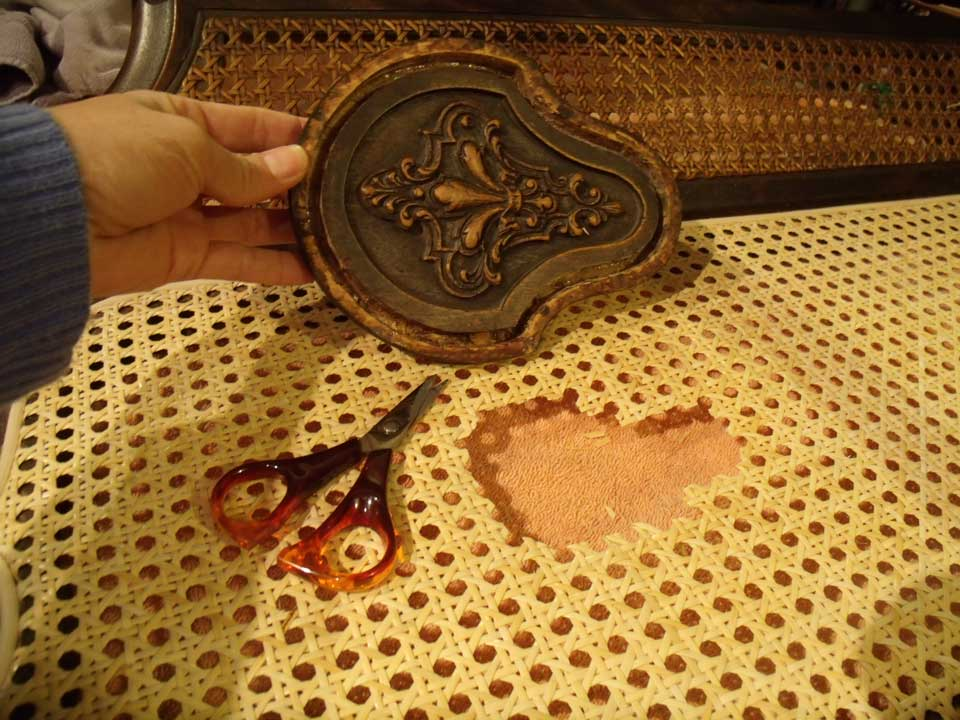 Pressed-Cane-Medallion-prep