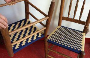 shaker-tape-checkerboard-and-herringbone-chairs