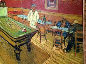vincent loved to paint the caned chairs