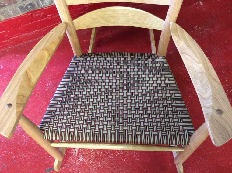 Striped-Shaker-Tape-Boggs-Ladderback-Rocker