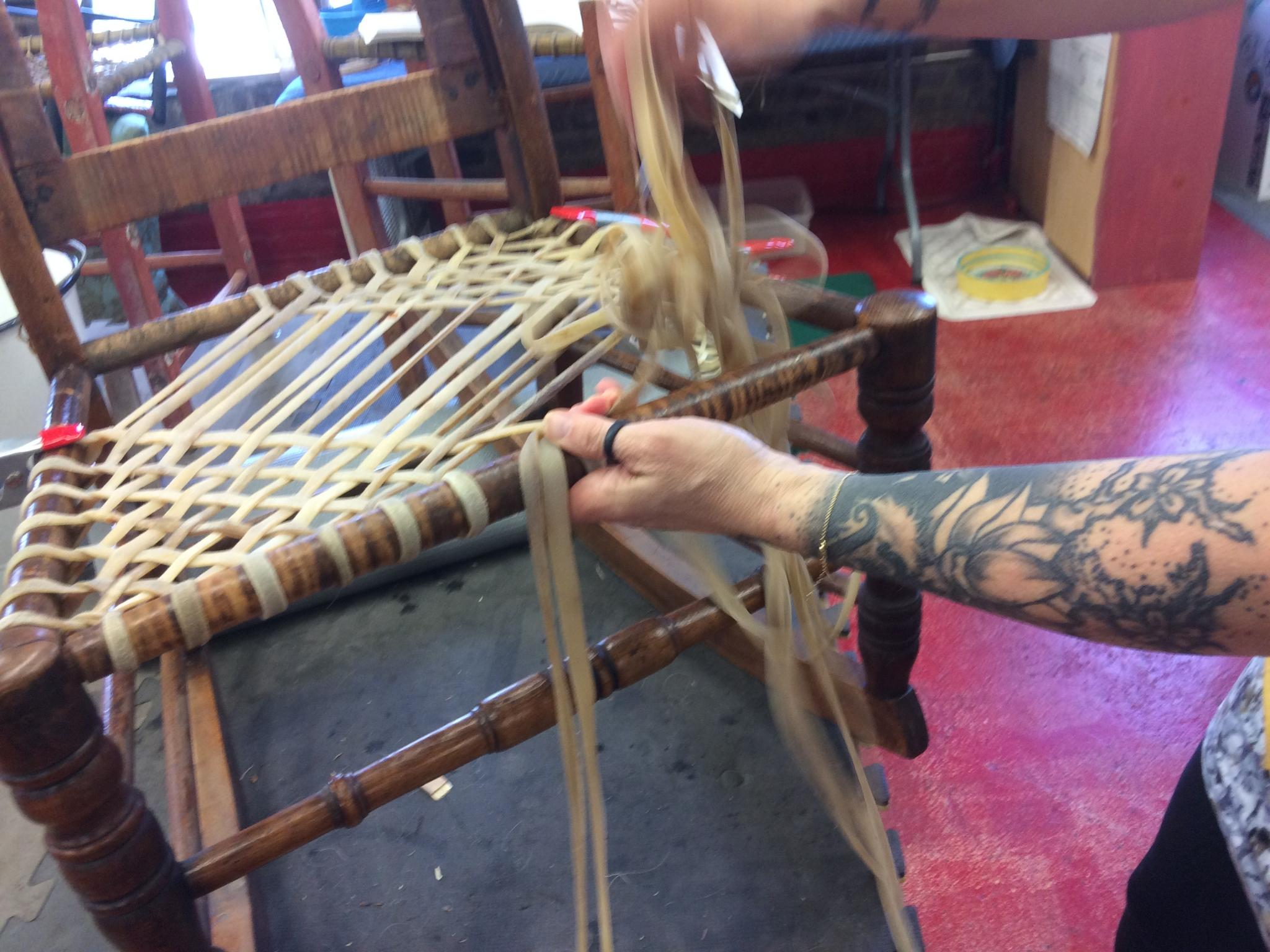 weaving-rawhide-SRCCC-3